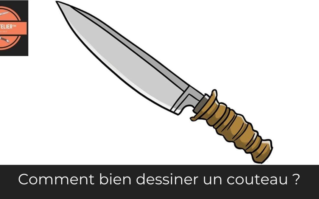 Comment dessiner un couteau