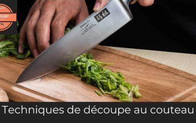 Techniques de découpe au couteau