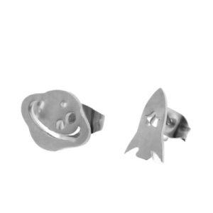 Boucle-oreilles-fusée