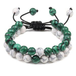 Bracelet-pierre-malachite