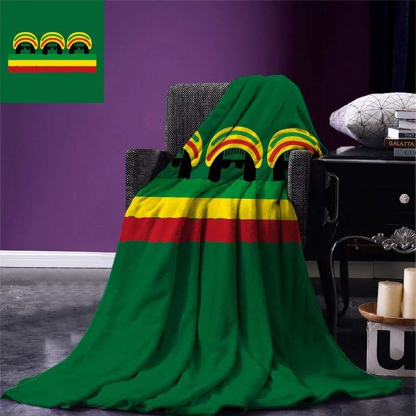 AccessoPlaid Jamaïcain Culture Reggaeires