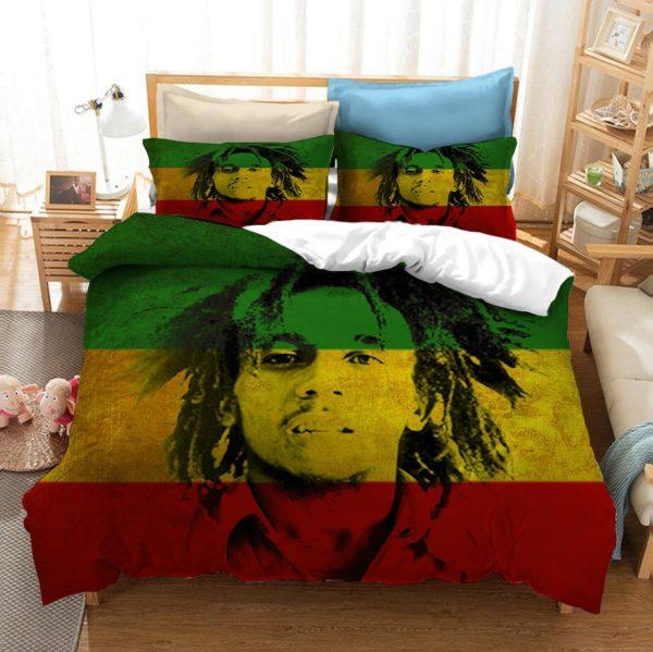 Ensemble de Literie Bob Marley 3 Pièces
