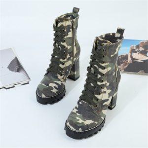 Bottes Camouflage
