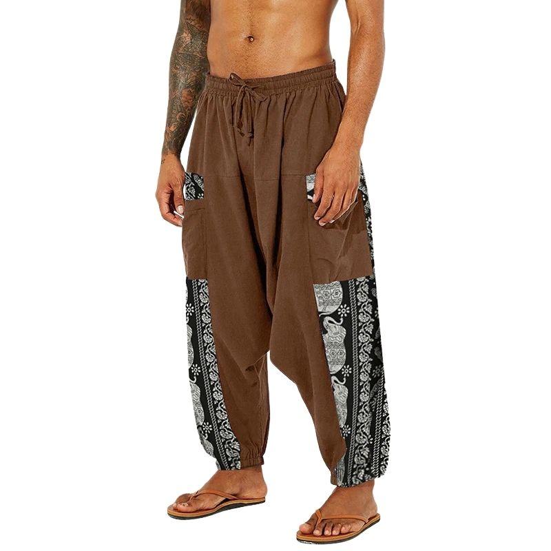 Pantalon Sarouel Streetwear marron - rastafarishop.fr