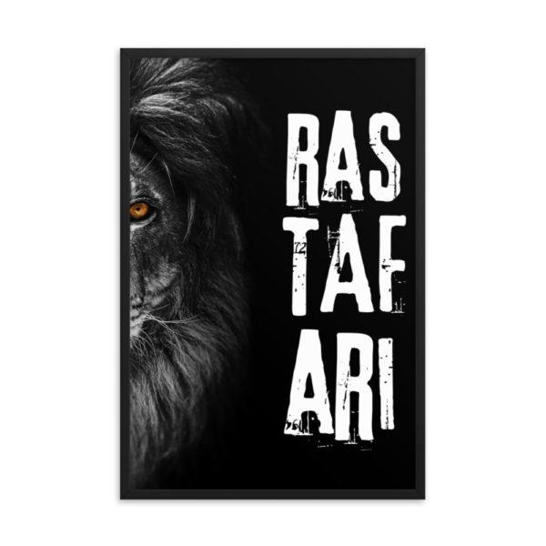 enhanced matte paper framed poster in black 24x36 transparent 608705054a664