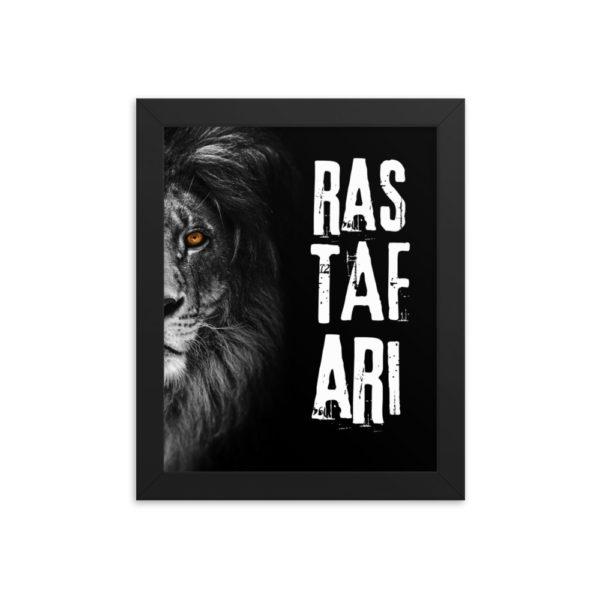 enhanced matte paper framed poster in black 8x10 transparent 6087050549ec2