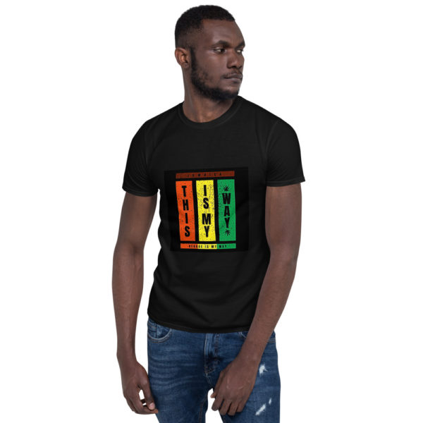 unisex basic softstyle t shirt black front 606f147fc6a38