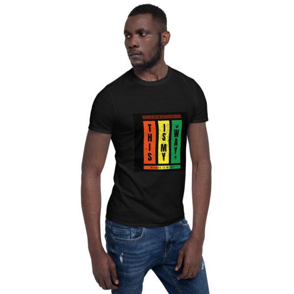 unisex basic softstyle t shirt black right front 606f147fc6ec4