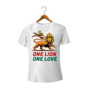 T-Shirt Unisexe One Lion One Love