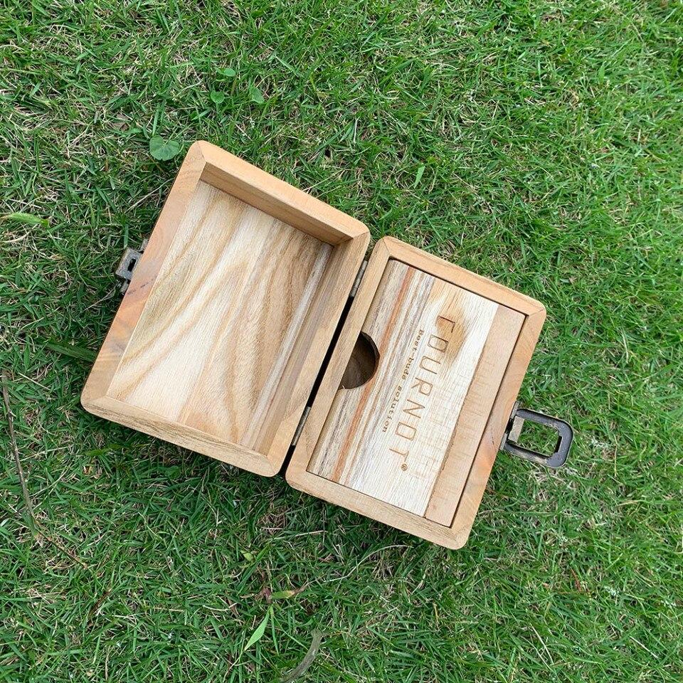 Boite à tabac Rasta en bois naturel