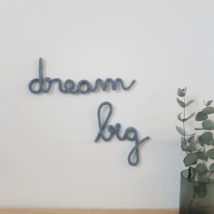 mot en tricotin dream big chambre enfant boheme