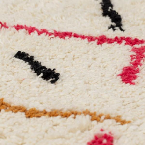 tapis boheme muticolore berbere