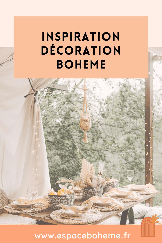 Inspiration decoration boheme