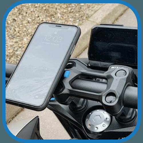 support téléphone smartphone moto compact clipandgo clip&go clip and go