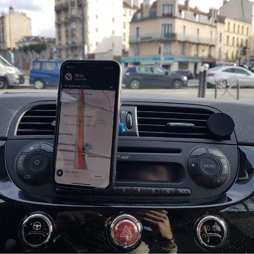 support téléphone smartphone voiture aération clipandgo clip&go clip and go