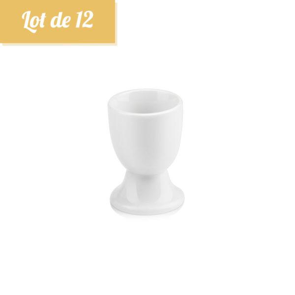 Coquetier Blanc