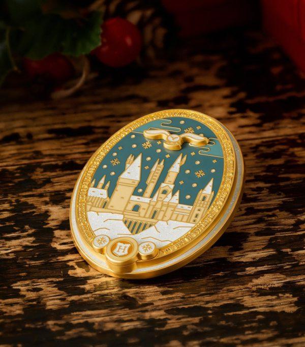 Boutique harry potter Pins Noël à Poudlard
