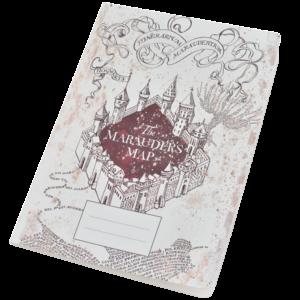 Cahier la Carte des maraudeurs