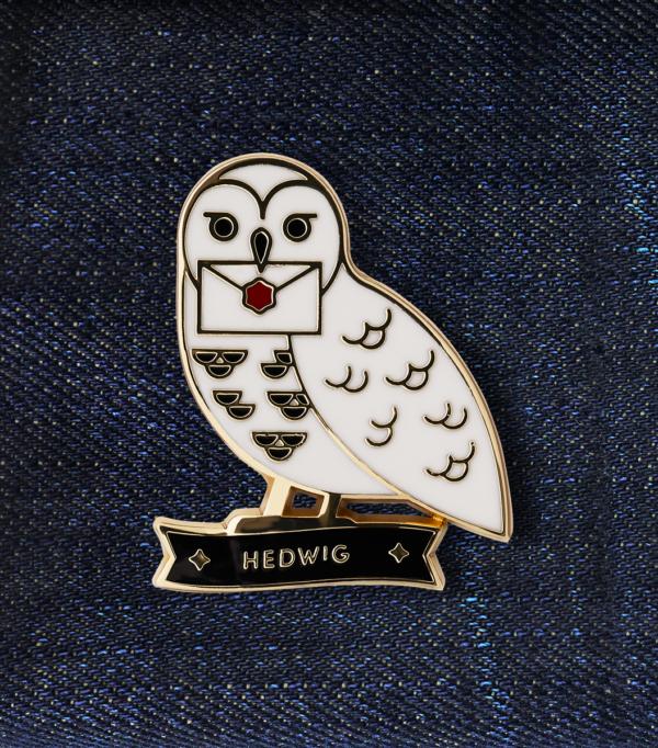 Boutique harry potter Epingles De Valeur Hedwig