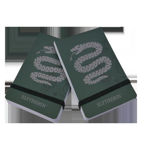 Carnets de Poche Serpentard (Lot de 2)