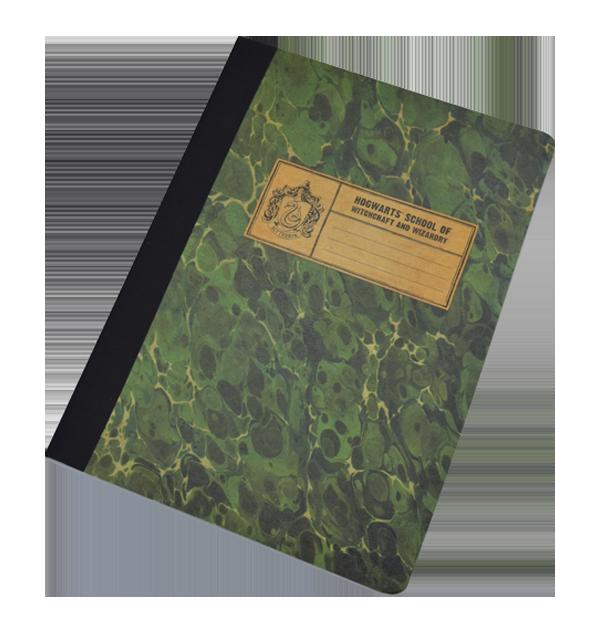 Carnet de notes Serpentard