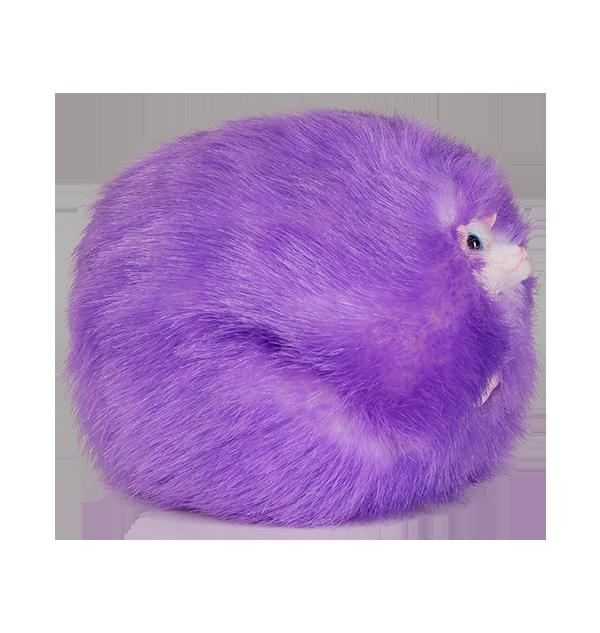 1296871 3 Boutique harry potter Peluche pygmée violette avec son