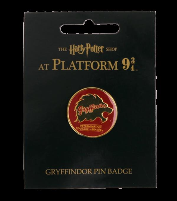 2019 Platform 934 Products Gryffindor Pin Badge Boutique harry potter Pin's des traits de Gryffondor