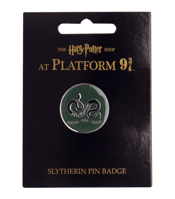 2019 Platform 934 Products Syltherin Pin Badge Boutique harry potter Badge Serpentard