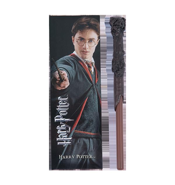 Stylo Baguette Magique et Marque-page Harry Potter