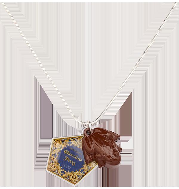 255458 2 Boutique harry potter Collier Grenouille en Chocolat