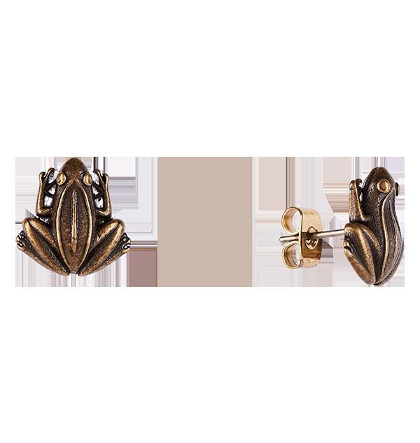 255459 2 Boutique harry potter Boucle d'oreille grenouille