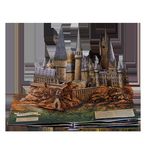 9870080 3 Boutique harry potter Livre pop-up Harry Potter