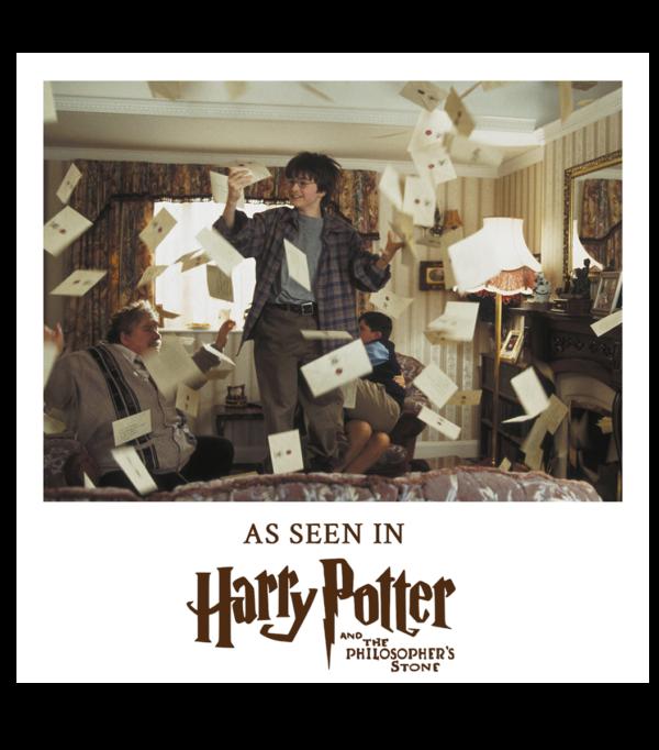 Acceptance Letter Boutique harry potter Lettre d'acceptation d'Harry Potter à Poudlard