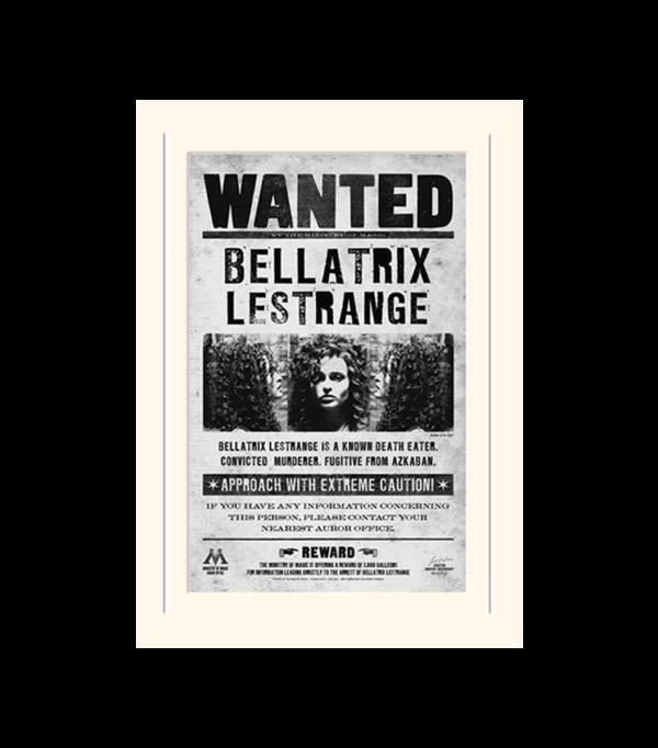 Poster Bellatrix Wanted