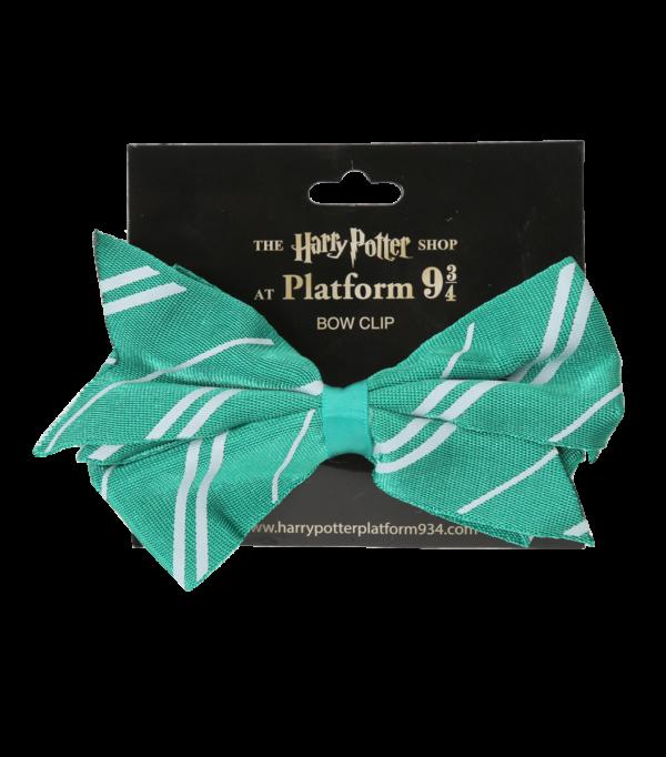 Bow Clip Slytherin001 Boutique harry potter Pince à cheveux Serpentard