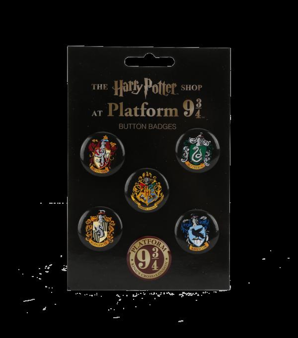 Button bage Set 001 Boutique harry potter Ecusson Harry Potter