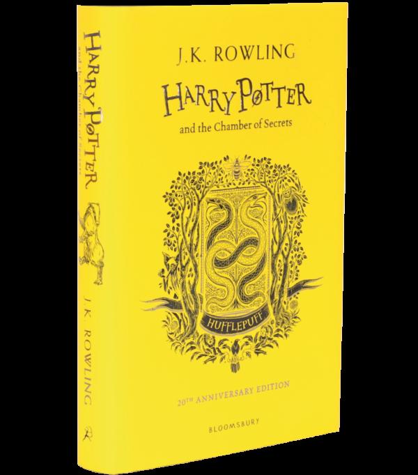 Harry Potter et la Chambre des Secrets Edition Poufsouffle 20ème Anniversaire (Cartonné)