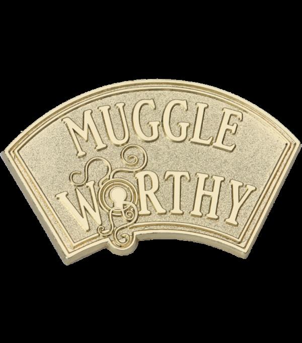 Badge d'épingle digne d'un moldu