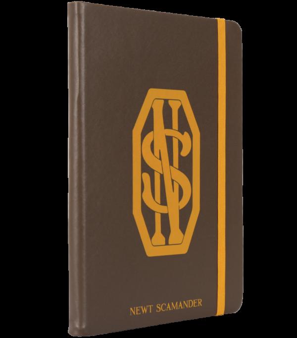 Bloc-notes des initiales de Newt Scamander