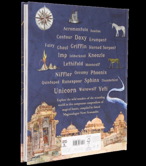 Fantastic Beasts Illustrated Boutique harry potter Edition illustrée Les animaux fantastiques et où les trouver