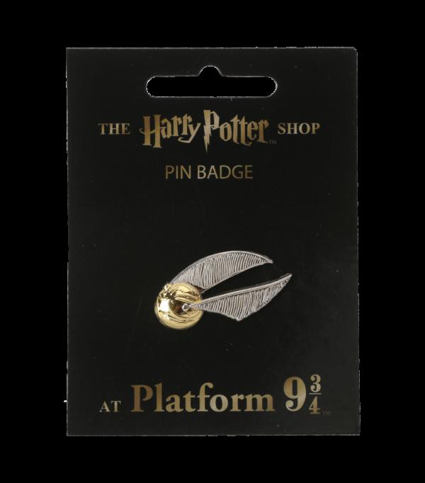 Golden Snitch Pin Badge001 Boutique harry potter Insigne d'épingle de vif d'or