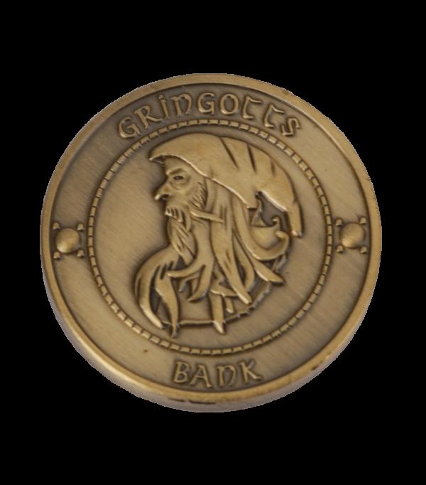 Boutique harry potter Jeu de pièces banque Gringotts