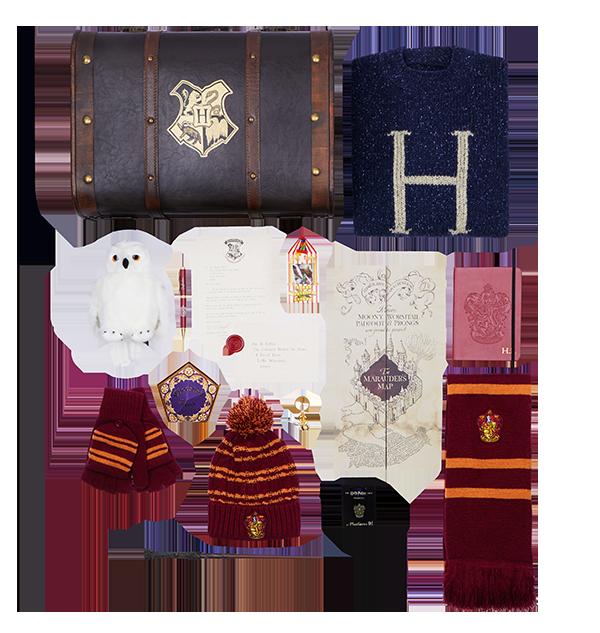 HARRY TRUNK UK 013 V1 PIN A Boutique harry potter Coffre à cadeaux Harry Potter