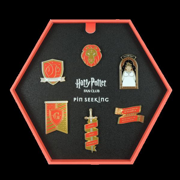 HPTPins Gryffindor 13 Boutique harry potter Set d'épingles Gryffondor Première Edition