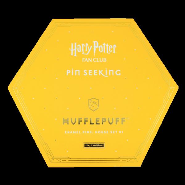 HPTPins Hufflepuff 01 Boutique harry potter Set d'épingles Poufsouffle Première édition
