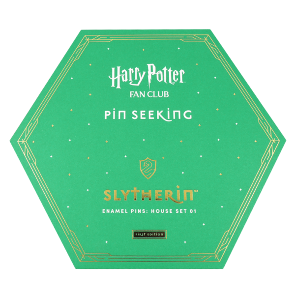 HPTPins SlytherinPins 11 Boutique harry potter Set d'épingles Serpentard Première édition