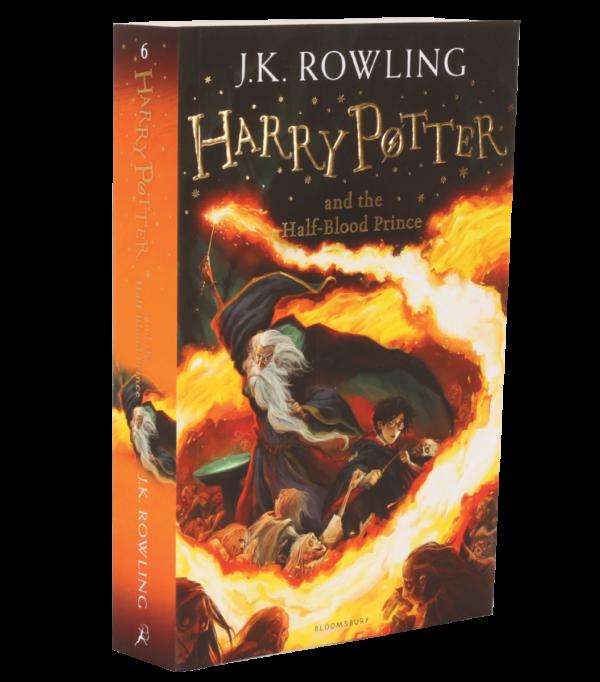 Nouvelle édition Harry Potter et le Prince de Sang-Mêlé livre de poche