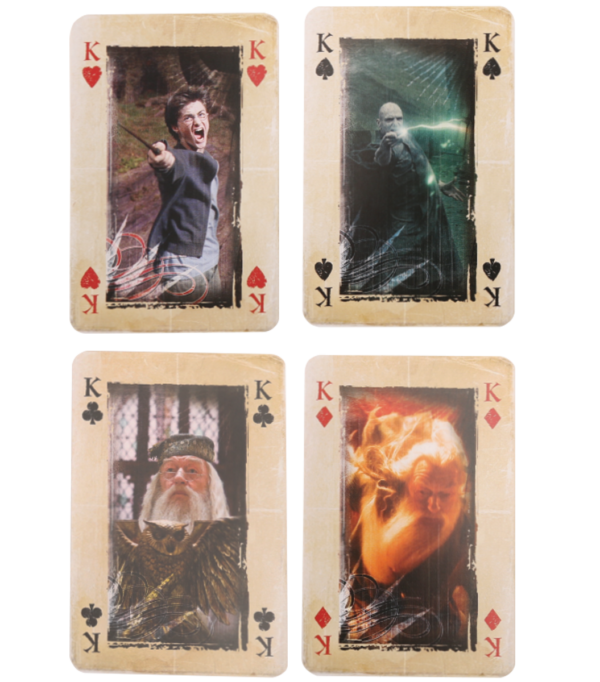 Harry Potter Playing cards template 002 Boutique harry potter Cartes à jouer Harry Potter