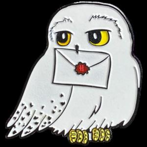 Badge Hedwig avec lettre d'acceptation