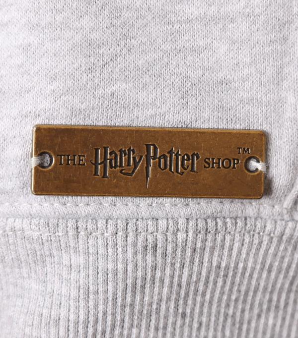 HogwartsScrollHoodie3 Boutique harry potter Pull à capuchon gris Poudlard